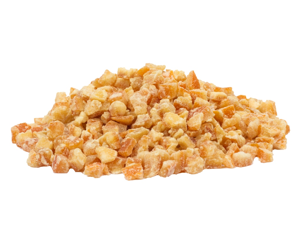 2-10 mm. Portakal Kabuğu Şekerlemesi